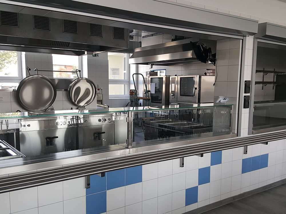 SŠ PTA Jihlava – Rekonstrukce kuchyně